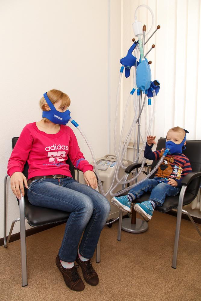 Гипокситерапия детям