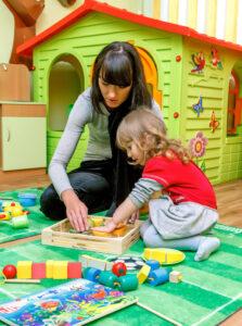 Занятия с коррекционным педагогом для ребенка