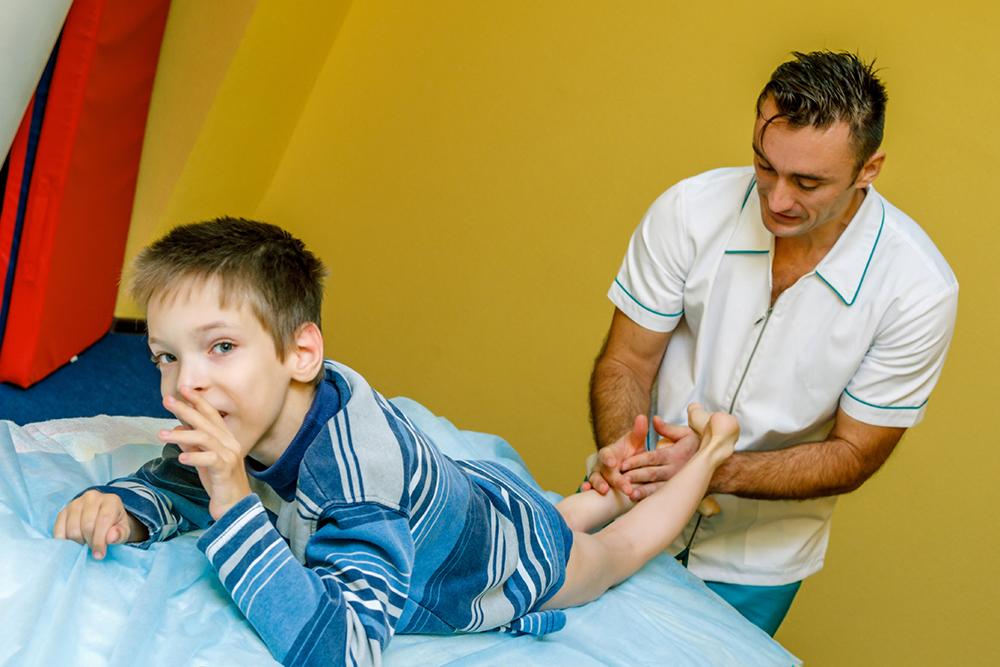 Лечебный детский массаж